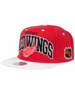 Detroit Red Wings Mitchell & Ness 2 Tone Team Arch kačket