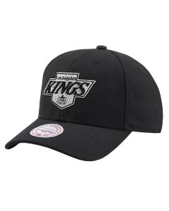 Los Angeles Kings Mitchell & Ness Team Logo High Crown Flexfit 110 kapa