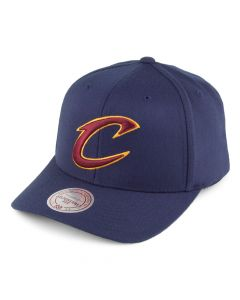 Cleveland Cavaliers Mitchell & Ness Team Logo High Crown Flexfit 110 Mütze