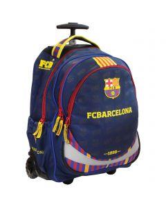 FC Barcelona Trolley školski ruksak sa kotačima