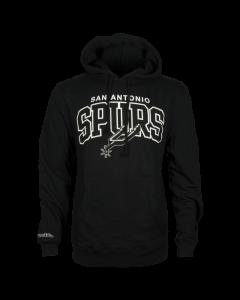 San Antonio Spurs Mitchell & Ness Team Arch jopica s kapuco