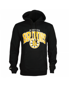 Boston Bruins Mitchell & Ness Team Arch duks sa kapuljačom