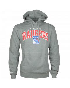 New York Rangers Mitchell & Ness Team Arch Kapuzenjacke Hoody