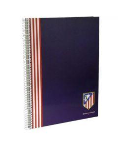 Atlético de Madrid zvezek A4