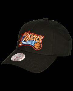 Philadelphia 76ers Mitchell & Ness Low Pro Mütze