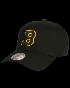 Boston Bruins Mitchell & Ness Low Pro Mütze