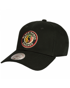 Chicago Blackhawks Mitchell & Ness Low Pro Mütze