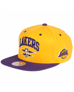 Los Angeles Lakers Mitchell & Ness Double Diamond kačket