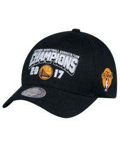 Golden State Warriors Mitchell & Ness 2017 NBA Champions Flexfit 110 kačket