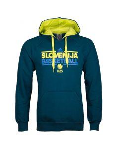 Slowenien Adidas KZS Kapuzenjacke