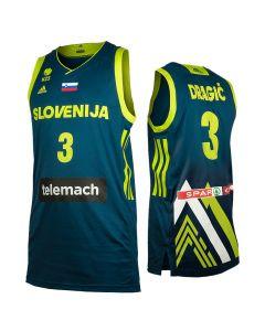 Slowenien Adidas KZS Herren Trikot Away Dragić 3
