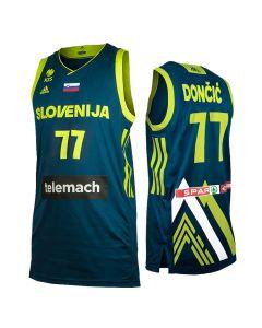 Slowenien Adidas KZS Herren Trikot Away Dončić 77