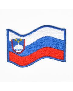 Slowenien Fahne Flagge Aufnäher