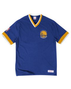 Golden State Warriors Mitchell & Ness Overtime Win Vintage 2.0 T-Shirt
