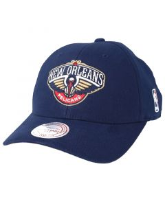 New Orleans Pelicans Mitchell & Ness Flexfit 110 Low Pro Mütze