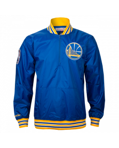 Golden State Warriors Mitchell & Ness 1/4 Zip Jacke