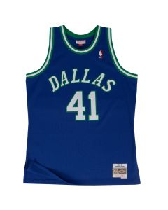 Dirk Nowitzki 41 Dallas Mavericks 1998-99 Mitchell & Ness Swingman dres