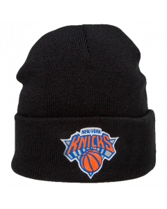 New York Knicks Mitchell & Ness Team Logo Cuff Wintermütze