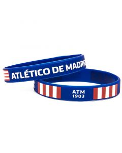 Atlético de Madrid 2x silikonska zapestnica