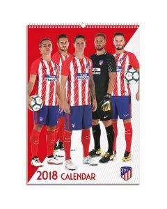 Atlético de Madrid koledar 2018
