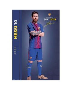 FC Barcelona Messi poster