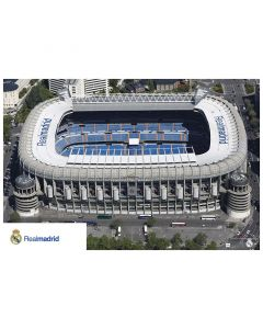Real Madrid Bernabeu poster