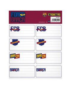 FC Barcelona nalepke za zvezke