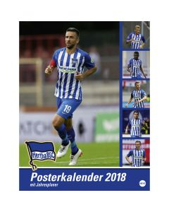 Hertha Berlin kalendar 2018