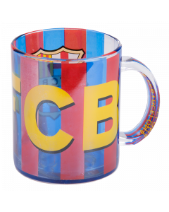 FC Barcelona Tasse aus Glas