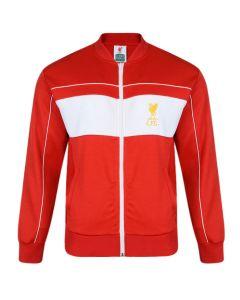 Liverpool 1982 Retro Track majica dugi rukav