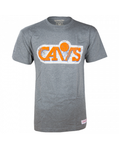 Cleveland Cavaliers Mitchell & Ness Distressed HWC Logo majica