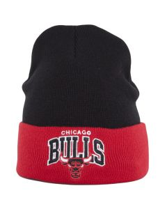 Chicago Bulls Mitchell & Ness Team Arch Cuff Wintermütze