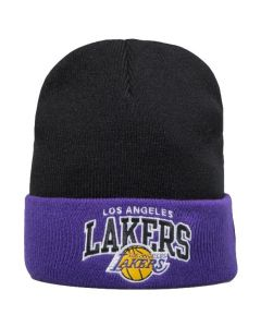 Los Angeles Lakers Mitchell & Ness Team Arch Cuff zimska kapa