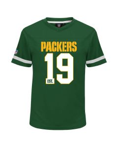 Green Bay Packers Mesh V-Neck T-Shirt