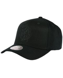 Boston Celtics Mitchell & Ness Black Flexfit 110 Mütze