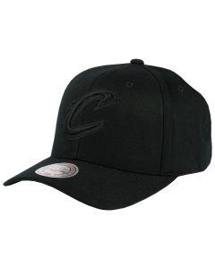Cleveland Cavaliers Mitchell & Ness Black Flexfit 110 kapa