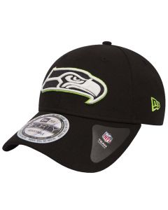 Seattle Seahawks New Era 9FORTY Glow In The Dark Black Mütze (80536342)
