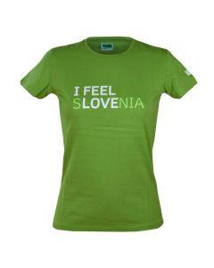IFS ženska majica zelena