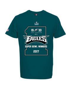 Philadelphia Eagles Majestic Athletic Super Bowl LII Champions majica (MPE6191GK)