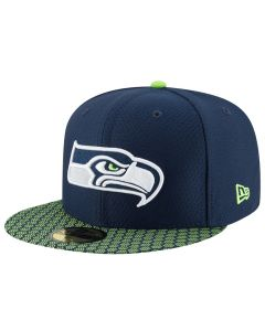 Seattle Seahawks New Era 59FIFTY Sideline kapa (11462064)