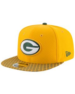 Green Bay Packers New Era 9FIFTY Sideline OF kapa (11466482)
