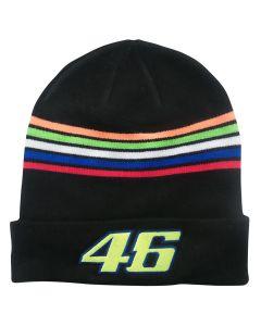 Valentino Rossi VR46 Stripes zimska kapa (VRMBE305104)
