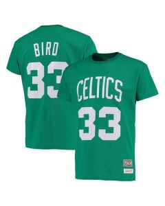 Larry Bird 33 Boston Celtics Mitchell & Ness T-Shirt