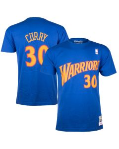 Stephen Curry 30 Golden State Warriors Mitchell & Ness T-Shirt
