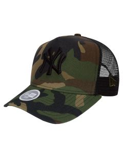 New York Yankees New Era Camo Team Trucker ženska kapa (80536760)