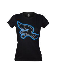 Silverhawks Damen T-Shirt Logo Black