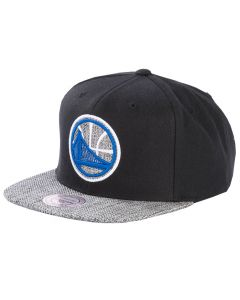 Golden State Warriors Mitchell & Ness Woven TC Mütze