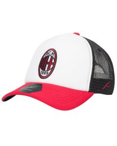 AC Milan Fan Ink Tri Trucker kapa