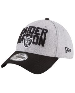 Oakland Raiders New Era 39THIRTY Draft On-Stage Mütze (11595893)