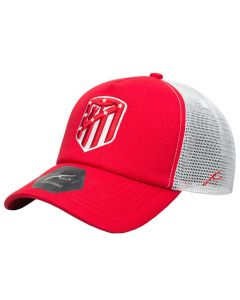 Atlético de Madrid Fan Ink Trucker Fog Mütze